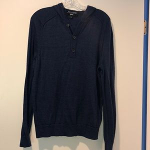 Men's Banana Republic hood sweater